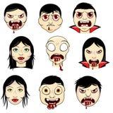 Progettazione del vampiro Fotografia Stock