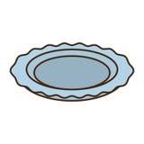 Progettazione del vassoio dell'alimento di approvvigionamento del vassoio royalty illustrazione gratis