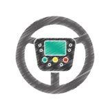 progettazione del volante Fotografia Stock Libera da Diritti
