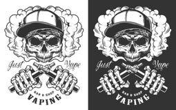 Progettazione dell'abito di Vaping royalty illustrazione gratis