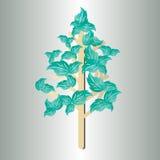 Progettazione 6 dell'albero Fotografia Stock Libera da Diritti