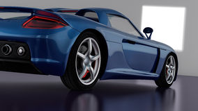 Progettazione dell'automobile sportiva Immagini Stock Libere da Diritti