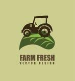 Progettazione dell'azienda agricola Fotografia Stock