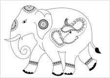 Progettazione dell'elefante Immagine Stock Libera da Diritti