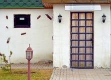 Progettazione dell'entrata e della porta Fotografia Stock