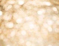 Progettazione dell'estratto del fondo di Natale dell'oro fotografia stock