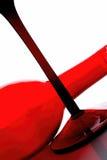 Progettazione dell'estratto della cristalleria del vino Fotografia Stock Libera da Diritti