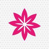 Progettazione dell'icona del fiore royalty illustrazione gratis
