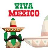 Progettazione dell'icona del Messico Immagine Stock Libera da Diritti