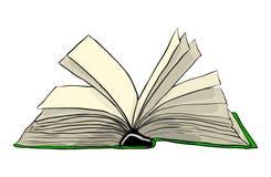 Progettazione dell'icona di simbolo di vettore del libro aperto Bello isolante dell'illustrazione royalty illustrazione gratis