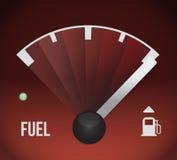 Progettazione dell'illustrazione del carro armato di gas combustibile Immagini Stock