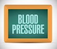 progettazione dell'illustrazione del segno di pressione sanguigna Immagini Stock