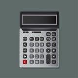 Progettazione dell'illustrazione dell'icona del calcolatore Fotografia Stock