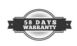 progettazione dell'illustrazione della garanzia da 58 giorni royalty illustrazione gratis