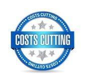 progettazione dell'illustrazione della guarnizione di taglio di costi Immagine Stock Libera da Diritti