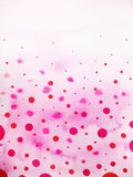 Progettazione dell'illustrazione della pittura dell'acquerello del fondo della goccia di pioggia Fotografia Stock