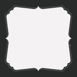 Progettazione dell'ornamento dell'annata e della decorazione Immagine Stock