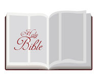 Progettazione della bibbia santa Fotografia Stock Libera da Diritti