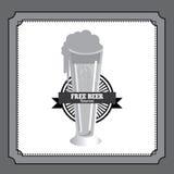 Progettazione della birra illustrazione vettoriale