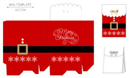 Progettazione della borsa di Natale Immagine Stock Libera da Diritti