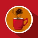 Progettazione della caffetteria Immagine Stock