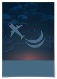 Progettazione della cartolina d'auguri, modello Immagine Stock Libera da Diritti