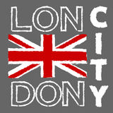 Progettazione della città di Londra Fotografia Stock Libera da Diritti