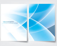 Progettazione della copertura del rapporto annuale royalty illustrazione gratis