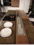 Progettazione della cucina Fotografia Stock