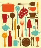 Progettazione della cucina Immagine Stock