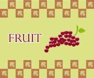 Progettazione della frutta Fotografia Stock Libera da Diritti