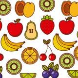 progettazione della frutta tropicale Immagini Stock