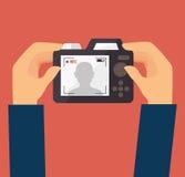 Progettazione della macchina fotografica Immagini Stock Libere da Diritti