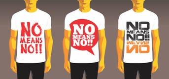 Progettazione della maglietta Immagine Stock