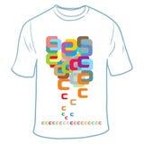 Progettazione della maglietta Fotografie Stock Libere da Diritti