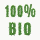 Progettazione della natura 100 BIO- Fotografie Stock
