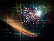 Progettazione della particella Fotografie Stock