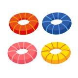 Progettazione della raccolta di vettore dell'anello di vita illustrazione vettoriale