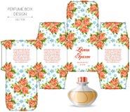 Progettazione della scatola del profumo Immagine Stock Libera da Diritti