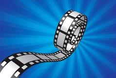 Progettazione della striscia di pellicola Fotografia Stock Libera da Diritti