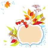 Progettazione della struttura di autunno Immagini Stock