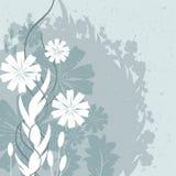 Progettazione delle foglie e dei fiori Fotografie Stock Libere da Diritti