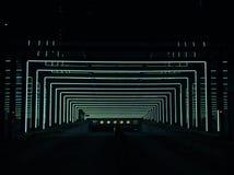 Progettazione delle luci di un parcheggio fotografie stock libere da diritti