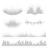 Progettazione delle onde sonore Immagine Stock Libera da Diritti