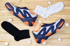 Progettazione delle scarpe di sport fotografia stock libera da diritti