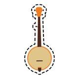Progettazione dello strumento di musica illustrazione di stock
