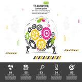 Progettazione di affari di vettore di Infographics Fotografie Stock Libere da Diritti