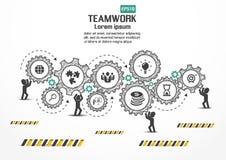 Progettazione di affari di vettore di Infographics Fotografia Stock