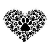Progettazione di amore dell'animale domestico e dell'animale Fotografie Stock Libere da Diritti