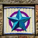 Progettazione di Antivari del cerchio della stella Fotografia Stock Libera da Diritti